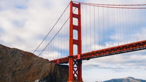 캘리포니아주 샌프란시스코의 금문교