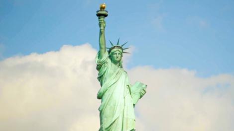 뉴욕시의 상징 자유의 여신상