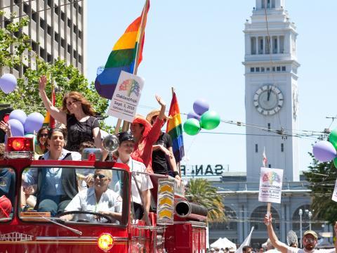 샌프란시스코 프라이드 LGBT 퍼레이드