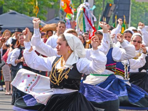 포르투갈의 날 퍼레이드 행사