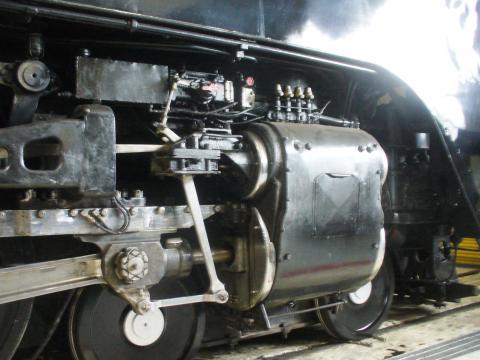 샤이엔의 역사적인 증기 기관차