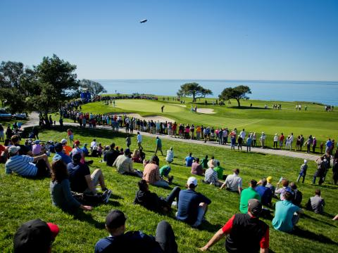 Picture-perfect day for Farmers Insurance Open