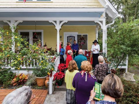 아멜리아섬 역사 박물관 별장 투어 중 유서 깊은 멋진 별장 투어하기